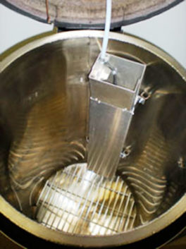 The interior of a CP-200vi